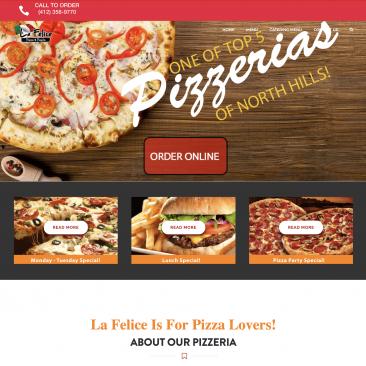 PizzaLaFelice.com